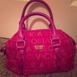 This is A Victoria secrets pink bag